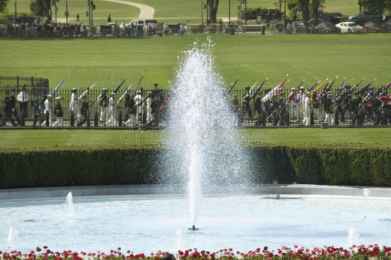 Download A Close-up Of The White House South Fountain Editorial Photography - Image: 27072072