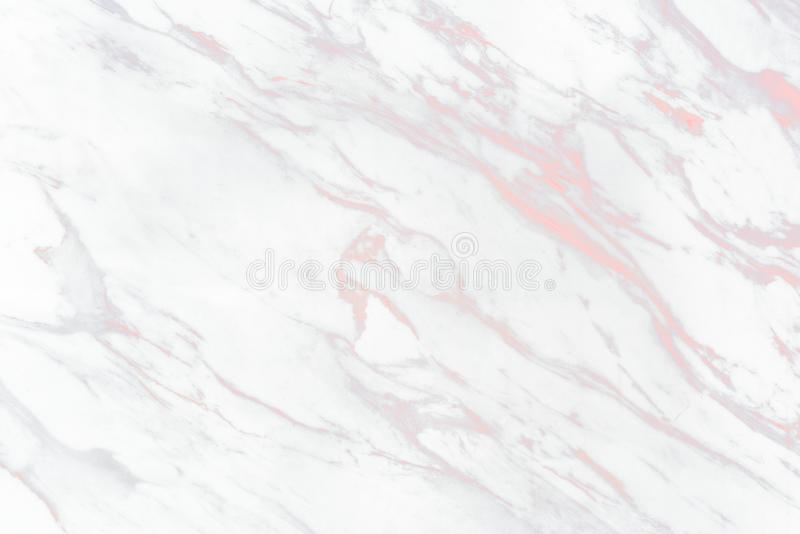 Close up of white marble texture background stock illustration