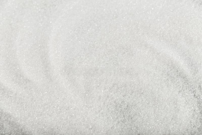 Close up of white  sugar texture background  - Image. Close up of white  sugar texture background stock photography