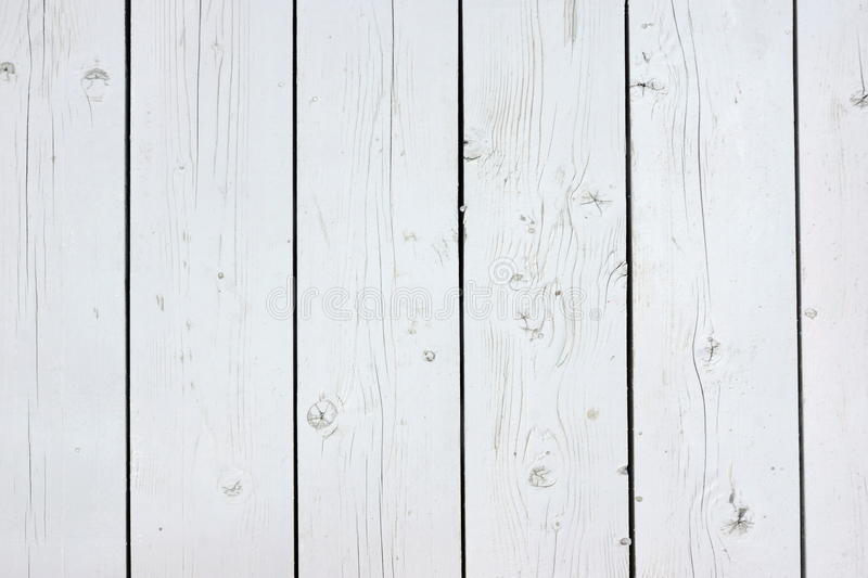 Close Up Of White Wood Planks Panel Background And Texture. White Wood Planks Panel Or Blank Signboard Or Empty Bulletin Board Or Vintage Notice Board royalty free stock photography