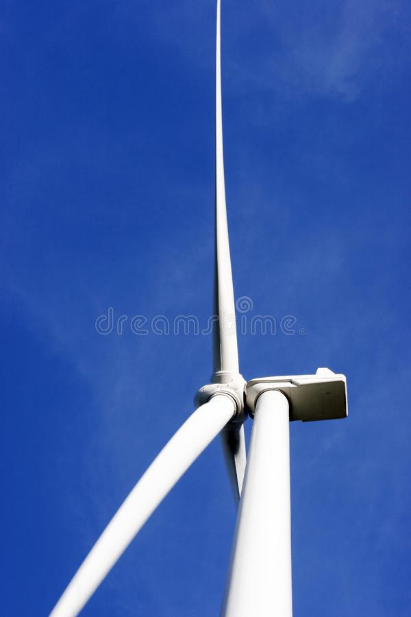 Close up of windmill royalty free stock image