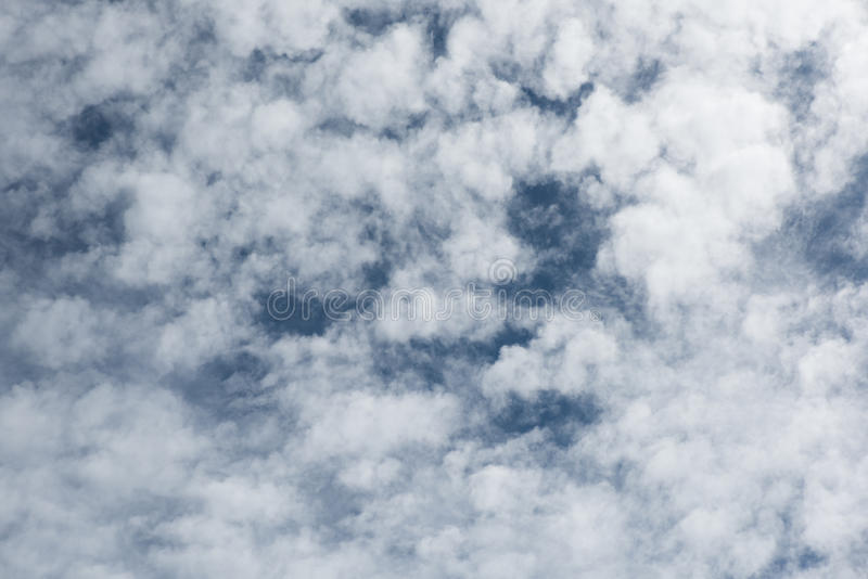 Close-up witte wolken royalty-vrije stock fotografie