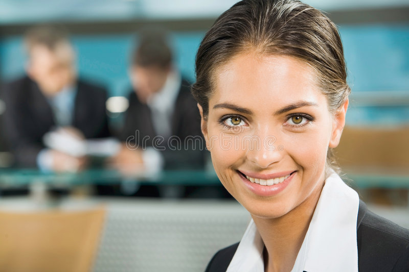 Download Close-up of woman stock photo. Image of collar, partner - 3244402