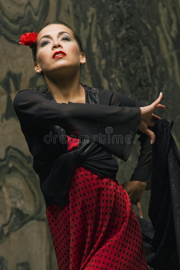 Close-up of a woman dancing royalty free stock images