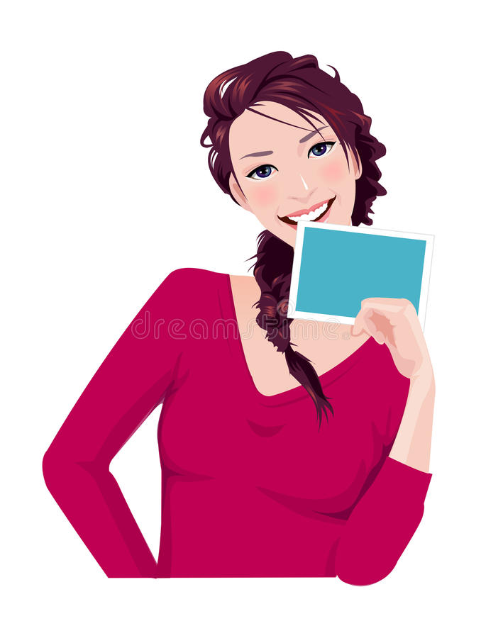Download Close-up of woman stock vector. Image of figure, colorful - 30093010