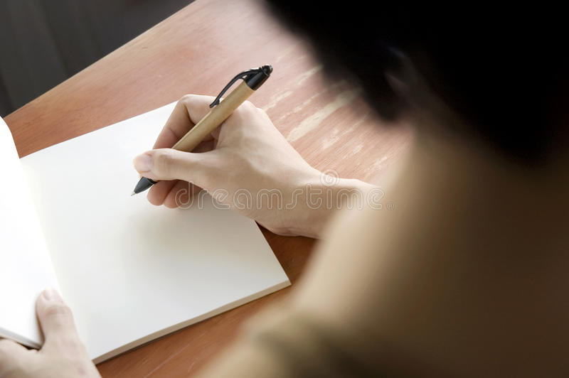 Download Close up woman writing stock photo. Image of business - 27452750