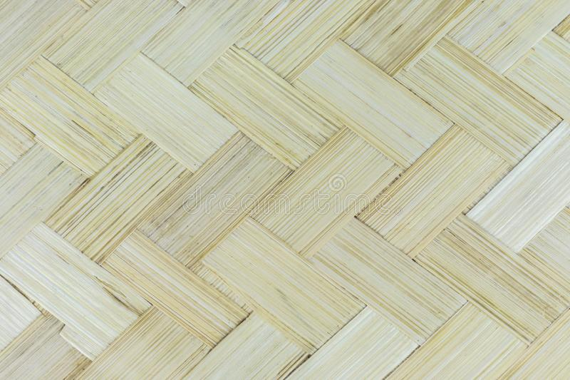 Close up wooden bamboo patern.  royalty free stock photos