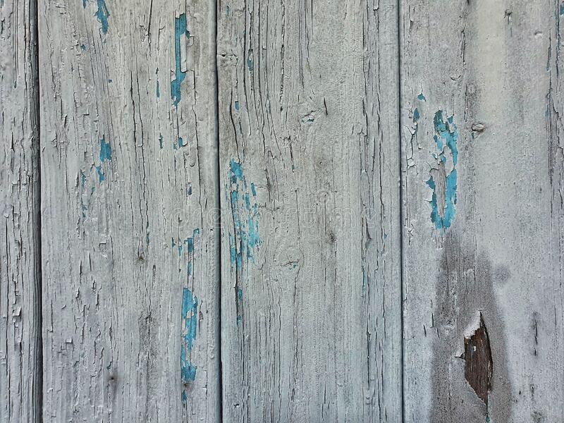 Close up of a wooden garage door royalty free stock photography