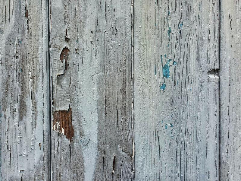 Close up of a wooden garage door stock photo