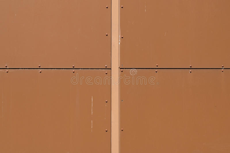 Close-up of a wooden penelling of a house. Close-up of a brown wooden panelling, seen in cologne, germany royalty free stock photography