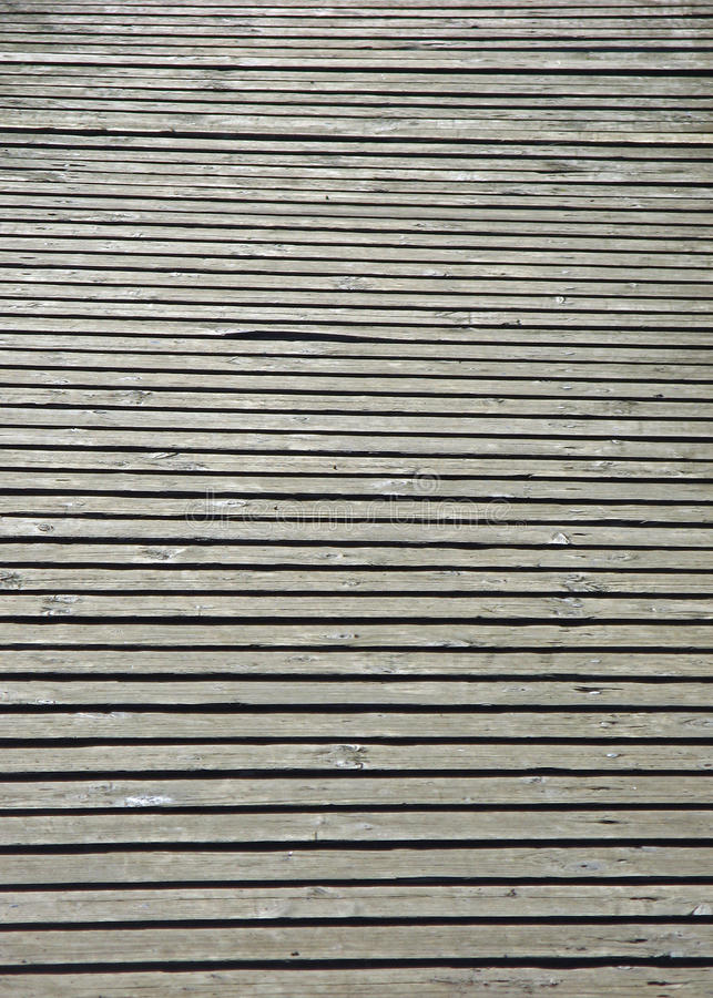 Close up wooden walkway stock images