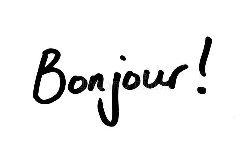 Bonjour Stock Illustrations 1 055 Bonjour Stock Illustrations Vectors Clipart Dreamstime