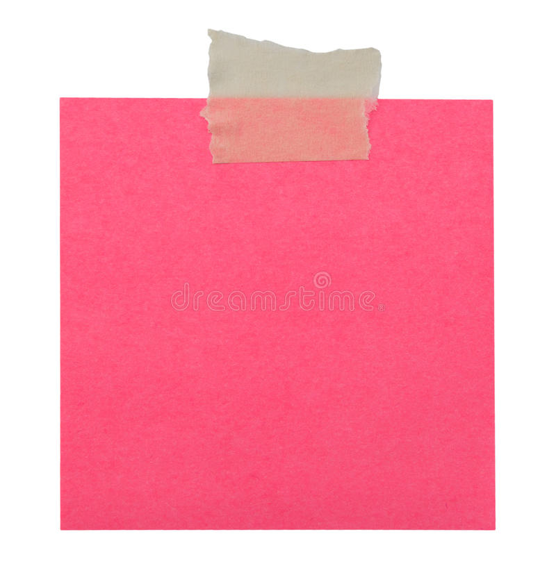 Download Close Up Of A Yellow Note Paper Stock Photo - Image of isolated, clipping: 39508192