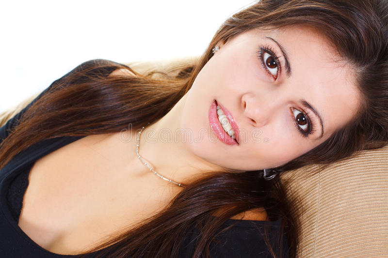 Download Close-up Of Young Beauty Smiling Stock Photo - Image: 22821800