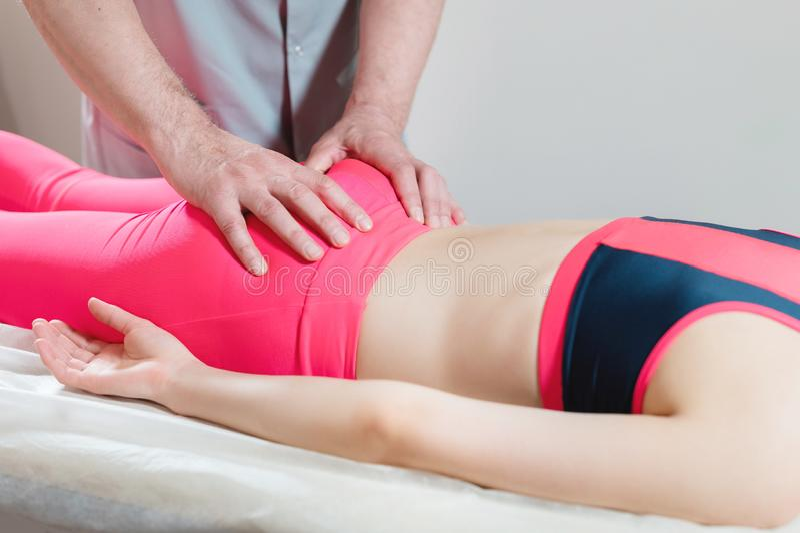2 Girls & 1 Chiropractic Back Adjustment: Hips & Low Back