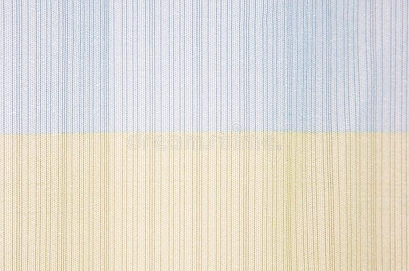 Close-updetail van de textuurachtergrond van de streepdoek, illustratie royalty-vrije stock foto