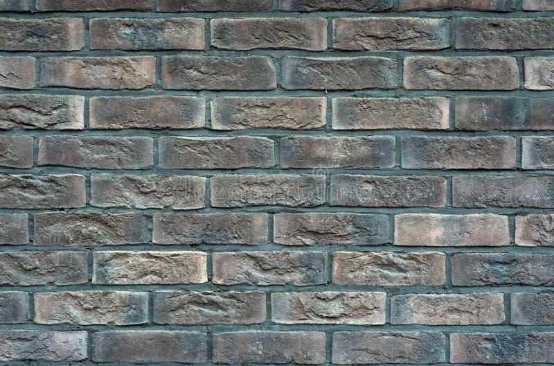 Close-upmening van oude brickwall Oude brickwalltextuur voor achtergrond stock afbeelding