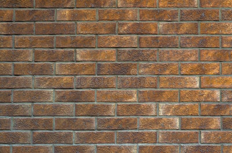 Close-upmening van oude brickwall Oude brickwalltextuur voor achtergrond royalty-vrije stock afbeelding