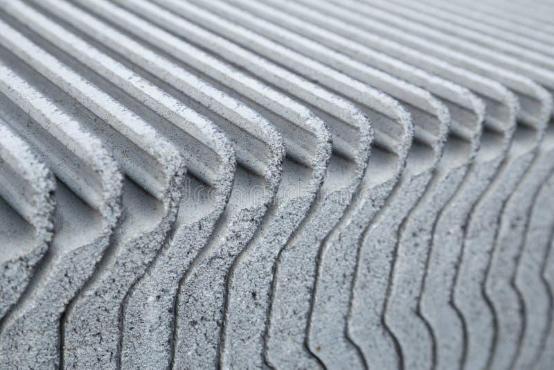 Close-uptextuur van concrete daktegel stock foto's