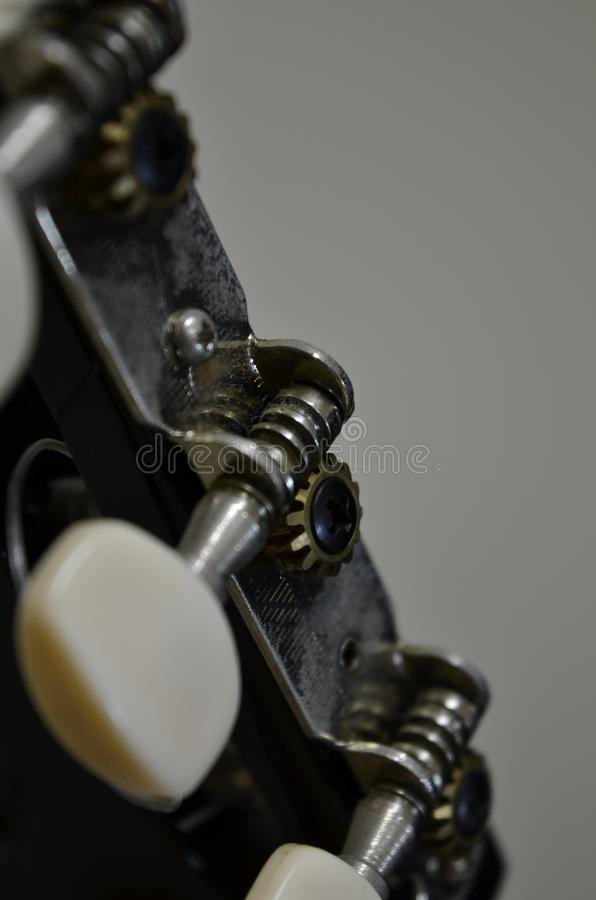 View of a guitar royalty free stock photos