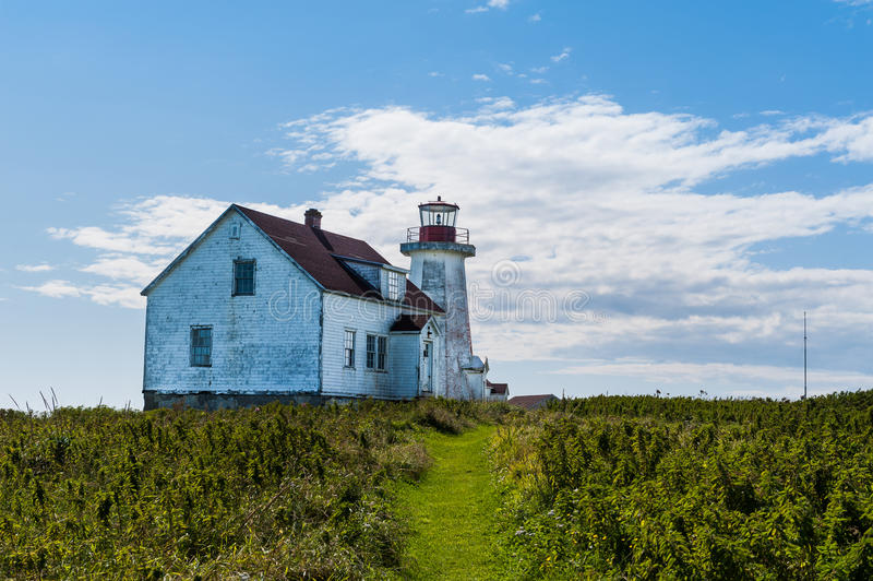 Close view of old lighthouse stock photos