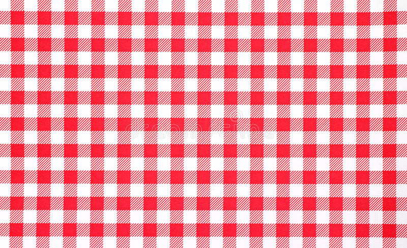 Download Close View Of Red Checkerboard Tablecloth Stock Photo - Image of cloth, cover: 19348664