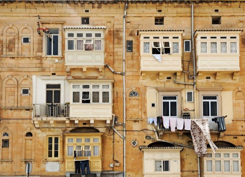 Closed balconies