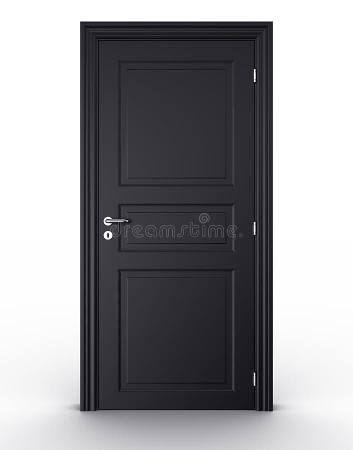 Download Closed Black Door Stock Photos - Image: 9360643