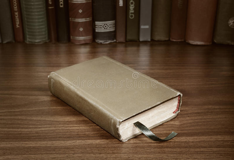 Closed Book Stock Photo