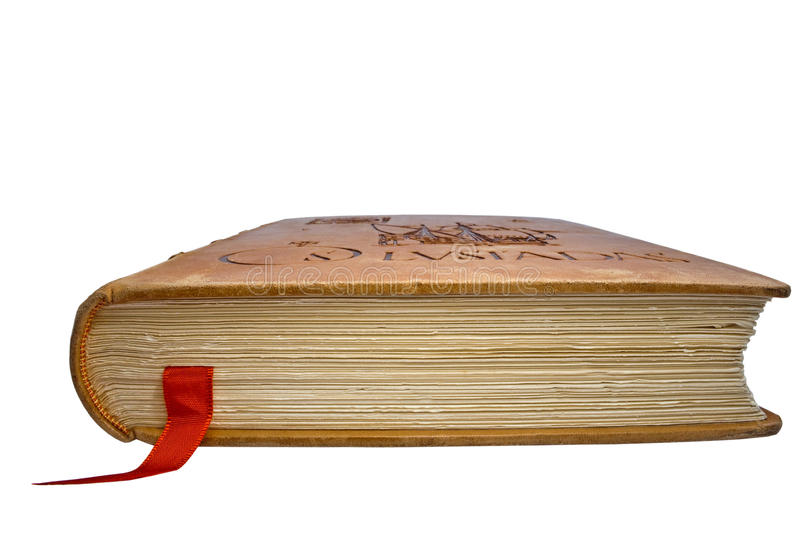 Closed Book With A Book-mark Royalty Free Stock Images
