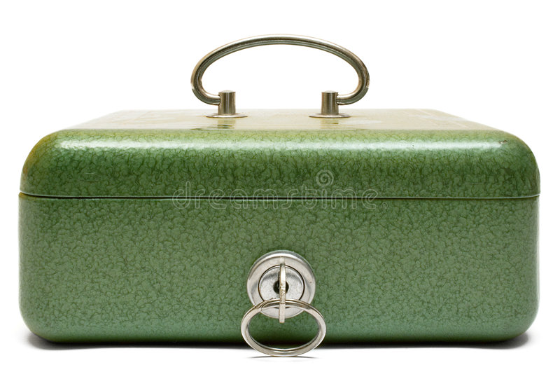 Download Closed Cash Box (Front View) Stock Images - Image: 523834