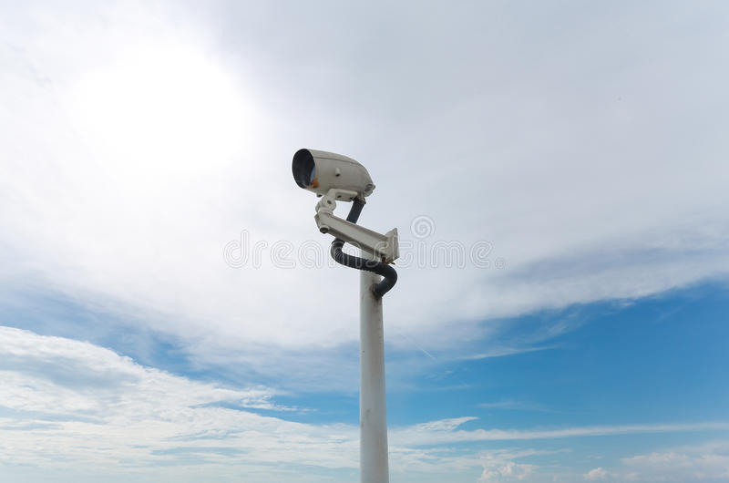 Closed-circuit camera royalty free stock photos