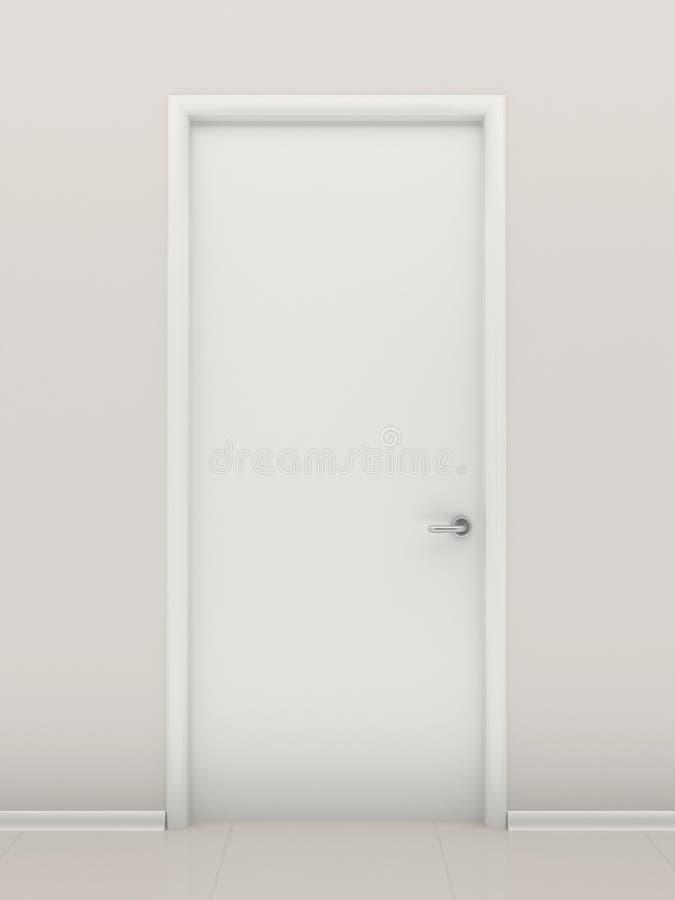 Download Closed door stock illustration. Illustration of entrance - 21619954