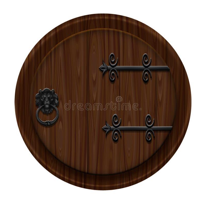 Download Closed door stock illustration. Image of interior, concept - 23621464