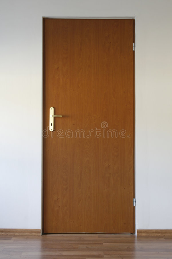 Closed door royalty free stock image