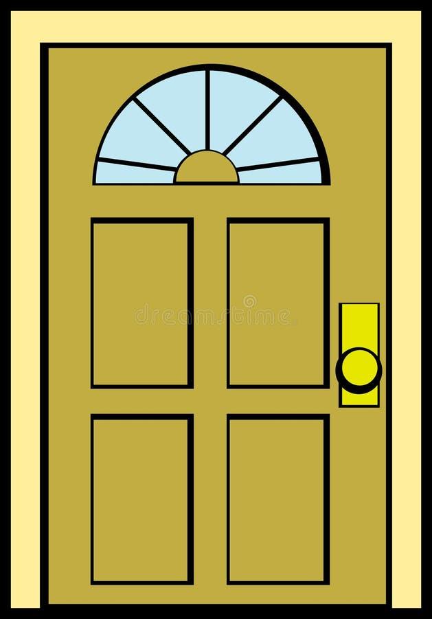 closed door clipart. Download Closed Door Vector Illustration Stock - Of Wooden, Glass: 4575815 Clipart G