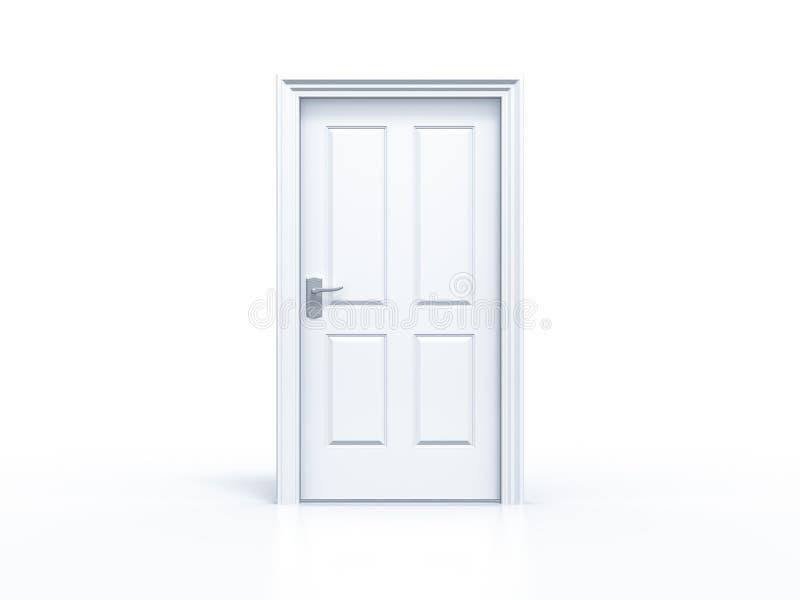 Download Closed Door On White Background Stock Illustration - Illustration of business keyhole 49578386  sc 1 st  Dreamstime.com & Closed Door On White Background Stock Illustration - Illustration of ...