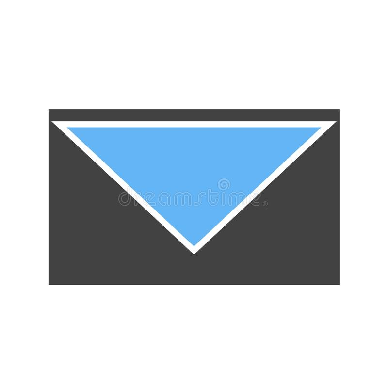 Closed Envelope III. Envelope, closed, message icon image. Can also be used for email, communication and messaging. Suitable for mobile apps, web apps and print vector illustration