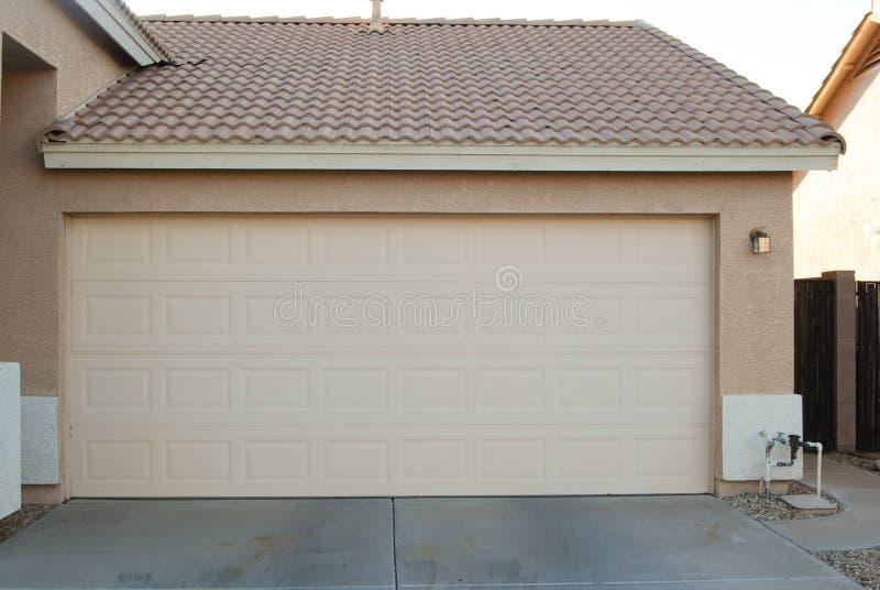 Closed Garage Door Stock Photo Image 46600989