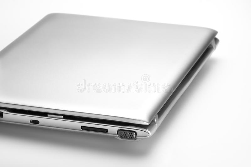 Closed Laptop stock photo