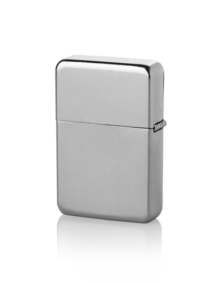 Metal lighter isolated royalty free stock photo