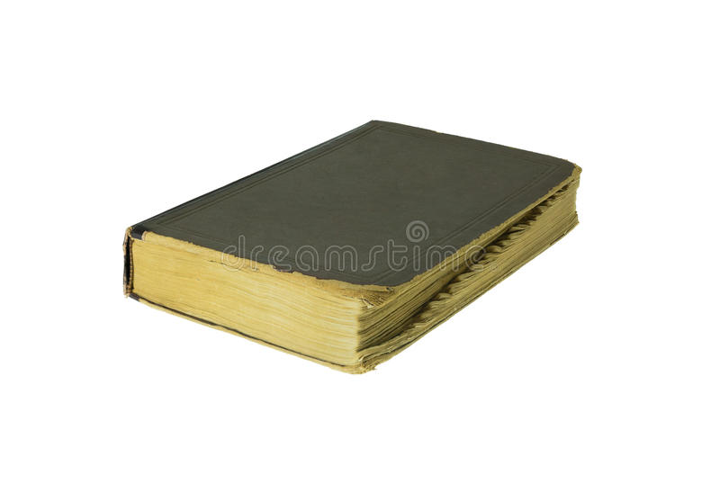 Closed old book royalty free stock photos