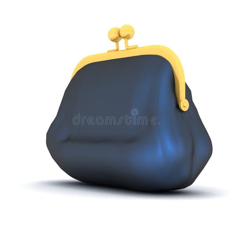 Download Closed purse stock illustration. Illustration of open - 22590974