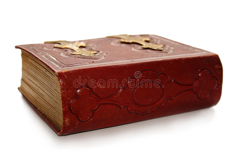 Download Closed red antique book stock image. Image of hardcover - 12252259