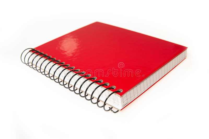 Download Closed Red Book - detail stock photo. Image of handbook - 517780