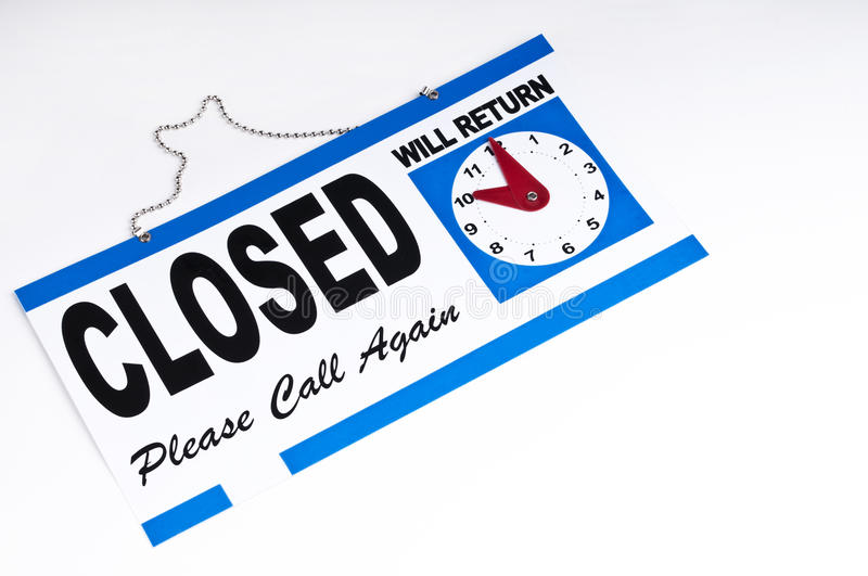 Download Closed sign stock photo. Image of banner, illuminated - 16819450