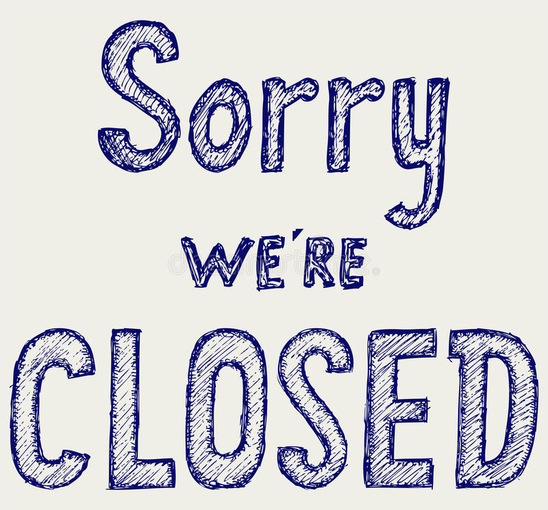 Download Closed Sign Royalty Free Stock Image - Image: 30886136