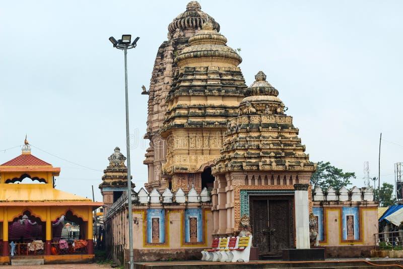 Closed temple at ghatagaon keonjhar odisha. India royalty free stock image