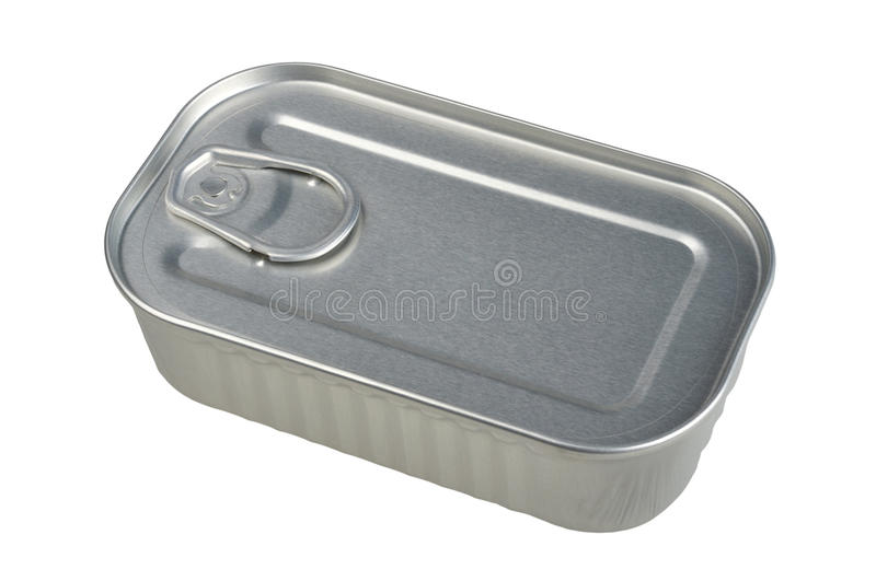 Download Closed tin can stock image. Image of single, metal, shiny - 22635183