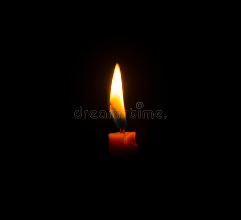Closed up candle stock photos